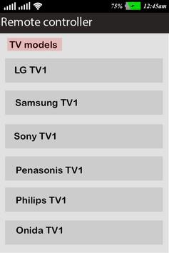 Universal Remote Control for All : Smart Remote screenshot 1