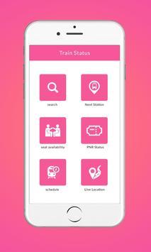 Live Train Status - Indian Railway & PNR Status poster