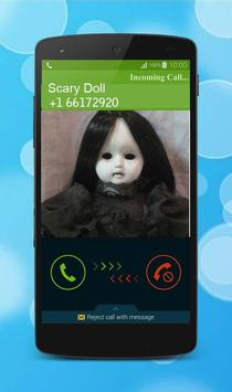 Scary Doll Calling Prank apk screenshot