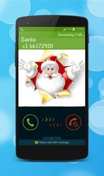 a Call Santa Prank poster