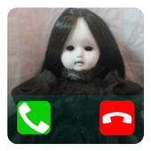 Fake Call Creepy Doll icon