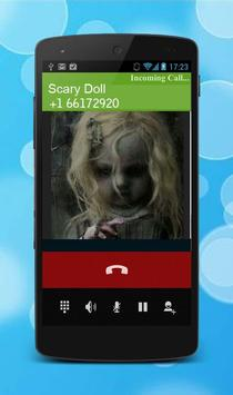 Fake Call Creepy Doll screenshot 1