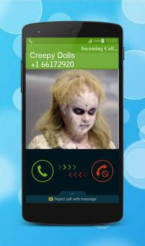 Fake Call Creepy Doll screenshot 2