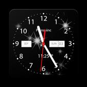 Analog Star Clock icon