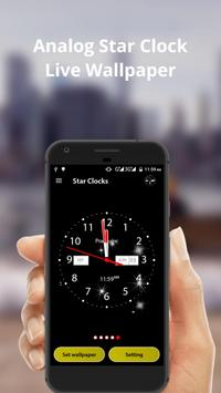 Analog Star Clock screenshot 2