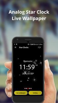 Analog Star Clock screenshot 3
