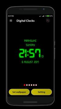 Digital Clock poster