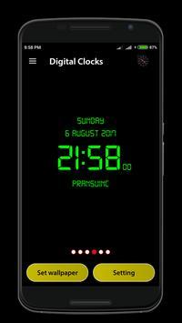 Digital Clock screenshot 3