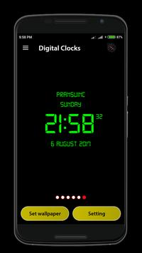 Digital Clock screenshot 5
