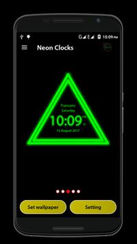 Neon Clock screenshot 4