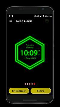 Neon Clock screenshot 6