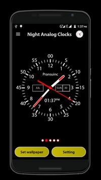 Night Analog Clock apk screenshot