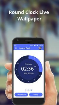 Round Clock apk screenshot