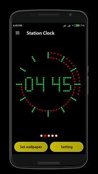 Station Clock apk screenshot