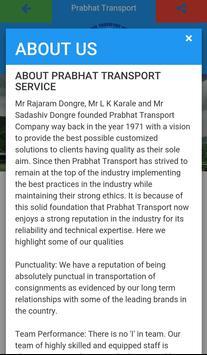 Prabhat Transport apk screenshot