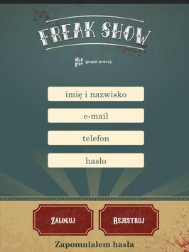 Freak Show Grupa Pracuj apk screenshot