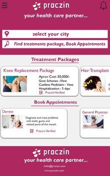 Praczin - Your health care partner screenshot 1