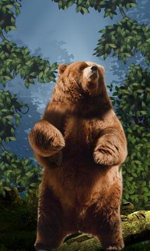 Dancing Bear Live Wallpaper poster