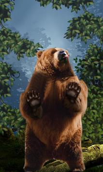 Dancing Bear Live Wallpaper screenshot 1