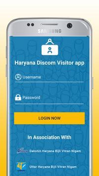 Haryana Discom Visitors poster