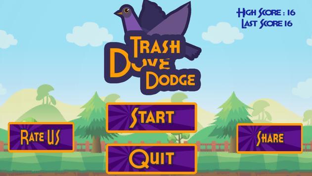 Trash Dove Dodge poster