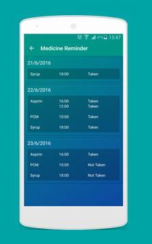 Medicine Reminder apk screenshot