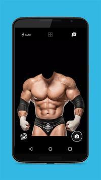 Wrestlers Photo Editor - Body Builder Photo Frame screenshot 3