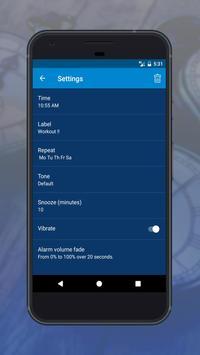 Advance Alarm Clock Pro apk screenshot