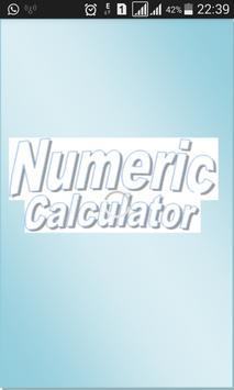 Numeric Calculator poster