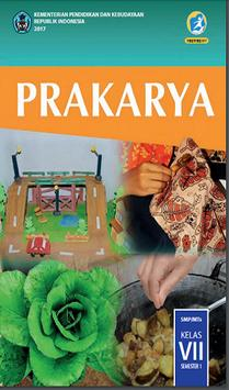 Buku Prakarya Kelas 7 Kurikulum 2013 poster