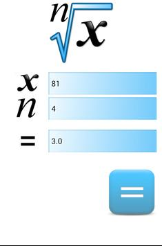 Root Calculator -nth,root,cube apk screenshot