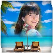 Beach Photo Montage icon