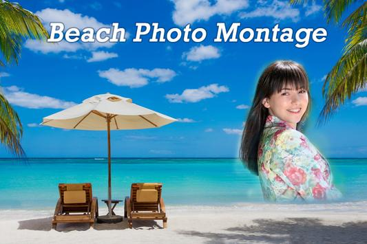 Beach Photo Montage poster