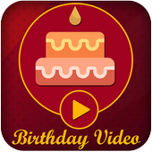 Birthday Video Editor icon