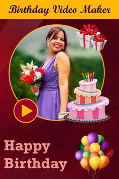Birthday Video Editor apk screenshot