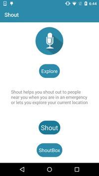 Shout apk screenshot