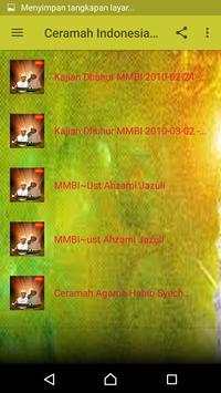 Ceramah Indonesia Terbaru screenshot 1