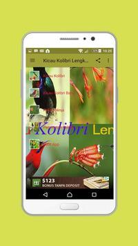 Kicau Kolibri Lengkap apk screenshot