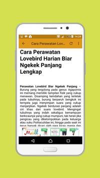 Lovebird Ngekek Panjang screenshot 2