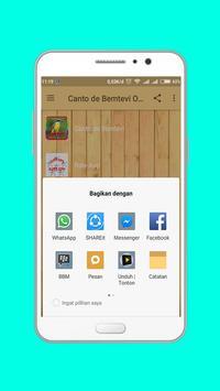 Canto de Bemtevi Offline screenshot 4