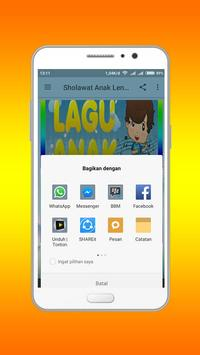 Sholawat Anak Lengkap Offline poster