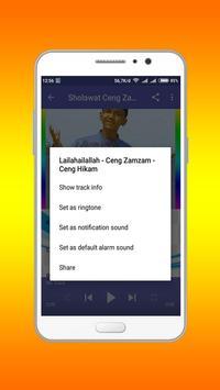Sholawat Ceng Zam Zam Lengkap screenshot 2