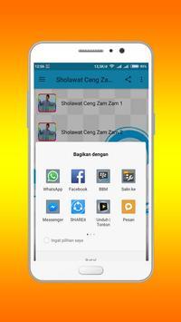 Sholawat Ceng Zam Zam Lengkap apk screenshot
