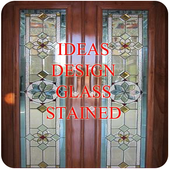 Design of Decorative Stained Glass icon