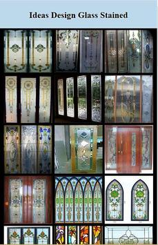 Design of Decorative Stained Glass poster