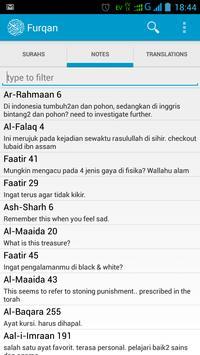 Furqan : Al Quran Study tool apk screenshot