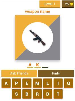 Poster PUBG Mobile Trivia Quiz