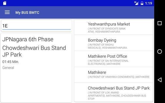 My Bus Bangalore(BMTC) screenshot 4