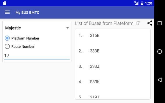 My Bus Bangalore(BMTC) screenshot 5