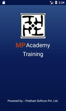 MP Academy  Training poster